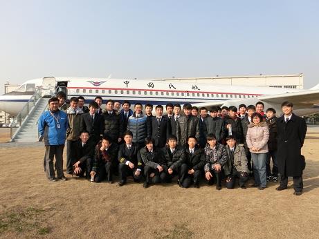 级飞行技术专业同学赴上海飞机制造有限公司实习